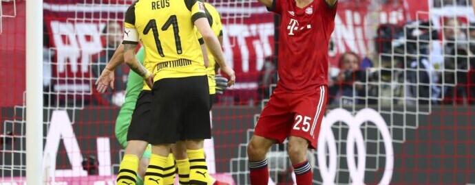 Бавария — Боруссия Дортмунд: Прогноз на матч Чемпионата Германии 9 ноября 2019