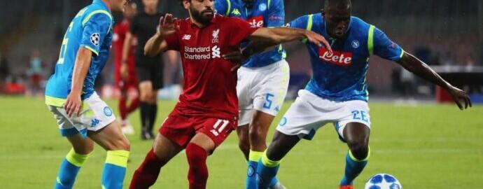 Ливерпуль — Наполи: Прогноз на матч Лиги Чемпионов 27 ноября 2019