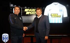 TM Parimatch – титульний партнер ФК «Десна»