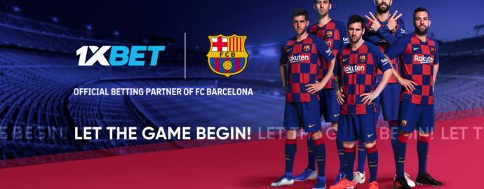Букмекерская контора 1xBet подписала соглашение о сотрудничестве с ФК Барселона